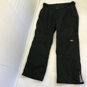 Marker black snow pants womens 12 EUC